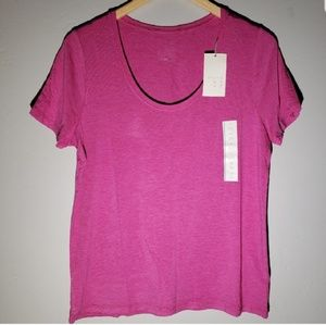 NWT Women's Any Day Short Sleeve Scoop T-Shirt